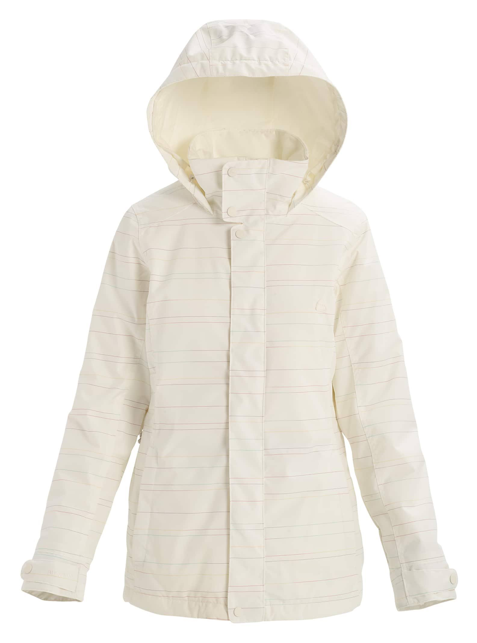 Burton Women's Jet Set Jacket, Stout White Spacedye, L