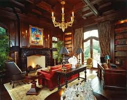 100 Victorian Interior Designs With Chandelier Hing In The Coffered Ceiling Over