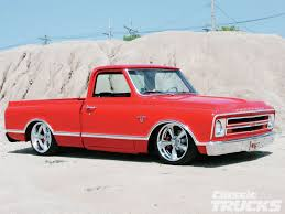 100 68 Chevy Truck Parts 19 Chevrolet C10 Front Side Old Skool Pickups