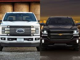 Ford Vs Chevy Trucks 2019 Chevrolet Silverado Vs Ford F 150 Vs 2019 ...