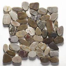 Sliced Pebble Tiles Uk by Pebble Floor Tiles Ebay