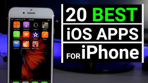 TOP 20 BEST iOS APPS for iPhone 2017