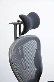 new atlas headrest ergonomically optimized for herman miller