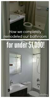Small Bathroom Remodel 8 Tips Enlightened Bathroom Remodel On A Budget See This Page Diy