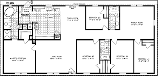 Fleetwood Triple Wide Mobile Home Floor Plans 4 bedroom mobile home plans apartmenthouse apartment house 10 four