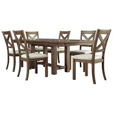 Signature Design By Ashley Moriville 7-Piece Rectangular Extension ... Sunny Designs Santa Fe Traditional Small Square Slate Top Pub Table Living Office Bedroom Fniture Hooker Ram Game Room 84 Texas Holdem Table Wding Top Home Bar Swag Ambella Ding Room Sets Spaces Signature Design By Ashley Woodanville Twotone Finish 7piece Puebla 5piece Game Set Powells Amazoncom Costzon Kids Wooden And 4 Chair 5 Pieces Haddigan 6piece Rectangular W Upholstered Lifetime With Almond Chairs Vendor 3985 Zappa Zp550pt Counter Height Becker How To Make A Contemporary Diy Youtube
