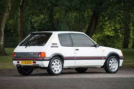 Peugeot 205 GTI sells for record £38k at auction