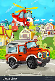 Cartoon Funny Looking Off Road Truck Stock Illustration 690372958 ...