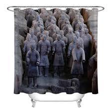 72 krieger figuren terrakotta armee angepasst badezimmer