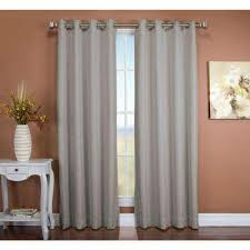Light Blocking Curtain Liner Fabric by Blackout Gray Curtains U0026 Drapes Window Treatments The Home