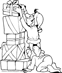 Christmas Coloring Book Pages 2