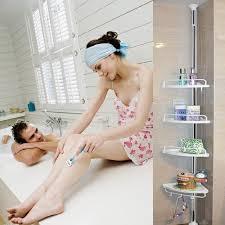 corner dusche regale einheit perfekt für kleine badezimmer