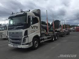 100 Log Trucks For Sale Used Volvo FH16 650 6x4 Tmmerbil Med Kran Og Henger Logging Trucks