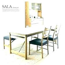 Black Dining Table With Bench Set H Triangle Room Dark