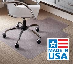 Glass Chair Mat Canada by Office Chair Mats Deskpads Floor Protection And Merchandising