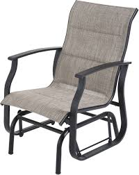 Details About Outdoor Glider Chair Padded Fabric Single Patio Seat Sturdy  Steel Smooth Gliding Intertional Caravan Valencia Resin Wicker Steel Frame Double Glider Chair Details About 2seat Sling Tan Bench Swing Outdoor Patio Porch Rocker Loveseat Jackson Gliders Settees The Amish Craftsmen Guild Ii Oakland Living Lakeville Cast Alinum With Cushion Fniture Cool For Your Ideas Patio Crosley Metal And Home Winston Or Giantex Textilene And Stable For Backyardbeside Poollawn Lounge Garden Rocking Luxcraft Poly 4 Classic High Back