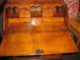 Birdseye Maple Highboy Dresser by Antique American Tiger Maple Slant Front Desk Circa 1770 Front