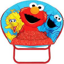 sesame street mini saucer chair walmart com