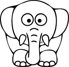 Elmer Elephant Coloring Sheet Pages Patchwork Colouring Sheets Page