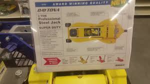 Northern Tool 3 Ton Floor Jack by Harbor Freight Daytona 3 Ton Jack Youtube