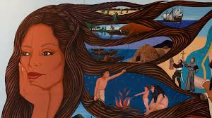 Big Ang Mural Unveiling by After 27 Years In A Warehouse A Once Censored Mural Rises In L A