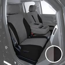 For Honda Odyssey 11-17 Canvas 1st Row Charcoal W Black Custom Seat ...