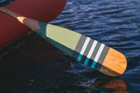 Decorative Oars And Paddles by Hand Painted Cherry Wood Artisan Canoe Paddles From Norquay Co