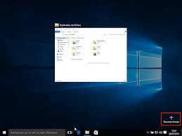 bureau viruel comment utiliser les bureaux virtuels de windows 10
