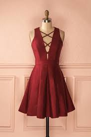 zoélie bourgogne robe burgundy shorts and prom