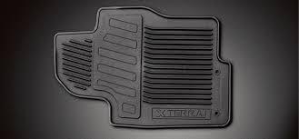 nissan xterra all season rubber floor mats 999e1 kr020