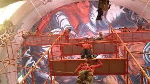 inba inició hoy el diagnóstico técnico sobre los murales de orozco