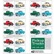 100 20 Trucks Pickup Sheet Of USPS Forever Postage Stamps 1938