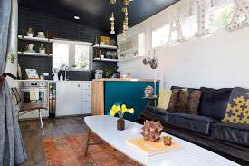 A 400-Square-Foot House In Austin Packed With Big Ideas - Small ... Compact Homes Ideas Trendir Original Private House Design Small Home Shoe Cabinet With Sliding Doors Transitional That Use Lofts To Gain More Floor Space Kitchen Designs Eertainment Chairs Racks 3d Interior Software Medium Buffets Sideboards Coffee Best 25 House Ideas On Pinterest Granny Flat Cabana First Second Third Level Plans Contemporary In In Bedroom New Amazing Simple Pictures Impressive Awesome Rear Storage View Along Bar