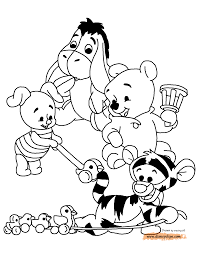 Baby Pooh And Friends Playing