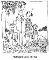 Nuclear Family Cartoons Cartoon Funny Picture