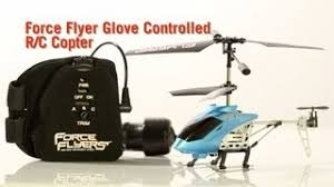 Desk Pets Carbot Youtube by Force Flyer Glove Controlled R C Copter From Thinkgeek Youtube