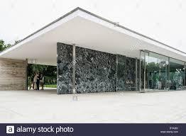 100 Van Der Architects Barcelona Pavilion Architect Ludwig Mies Van Der Rohe For
