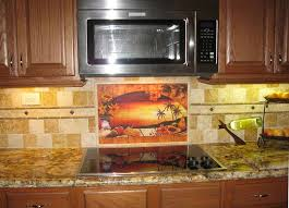 mexican tiles sunset tile murals tropical kitchen backsplashes