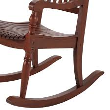 Better Homes & Gardens Ridgely Slat Back Mahogany Rocking ... Mainstays Cambridge Park Wicker Outdoor Rocking Chair Folding Plush Saucer Multiple Colors Walmartcom Mahogany With Sling Back Natural 6 Foldinhalf Table Black Patio White Solid Wood Slat Brown Shop All Chairs