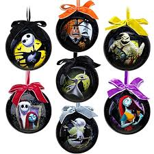 Nightmare Before Christmas Tree Toppers Bauble Set by The Everyday Goth The Gothy Christmas Tree And Post