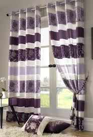 Grey And Purple Living Room by Curtains Living Room With Purple Curtains Ideas Gray And Purple