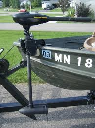 Captains Chair For Lund Boat by Transom Mount Trolling Motor Converted To Bow Mount Trolling Motor