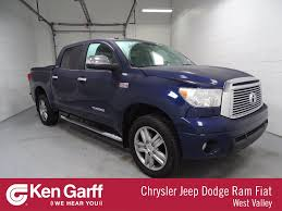 Pre-Owned 2012 Toyota Tundra 4WD Truck LTD Crew Cab Pickup In West ...