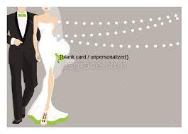 Glamour Couple Wedding Shower Invitations