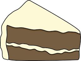 Clip Art Slice Cake Clipart 1