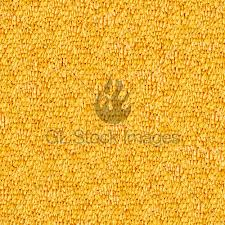Seamless Yellow Carpet Closeup Texture Background