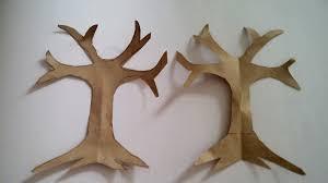 Step 2 Paper Craft Tree Tutorial