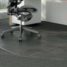 Glass Chair Mat Canada by Office Chair Mat Glass For Carpeted Floor U2013 Realtimerace Com