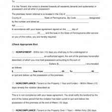 Letter Eviction Notice Best Resumes