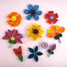 Easy Quilling Flowers